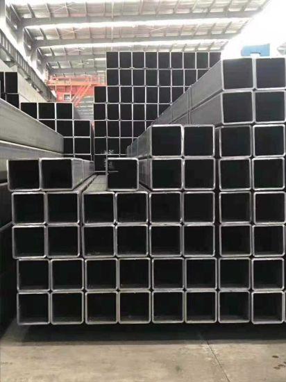 En10219 Materials Black Steel Square Tube 100X100, S235 Rectangular Steel Tube