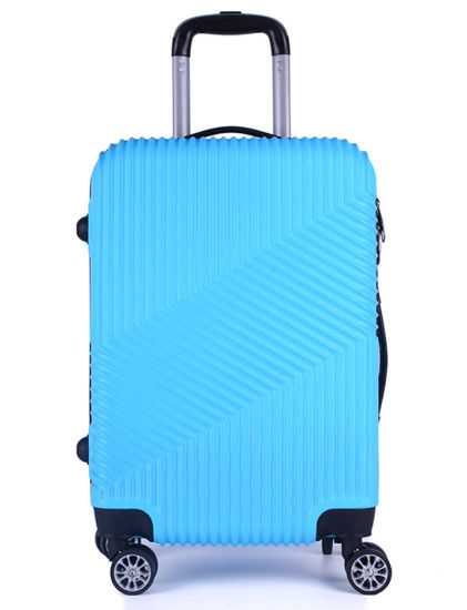 2019 New Design Traveling Bag, 4 Spinner Wheels ABS Suitcase (XHA121)