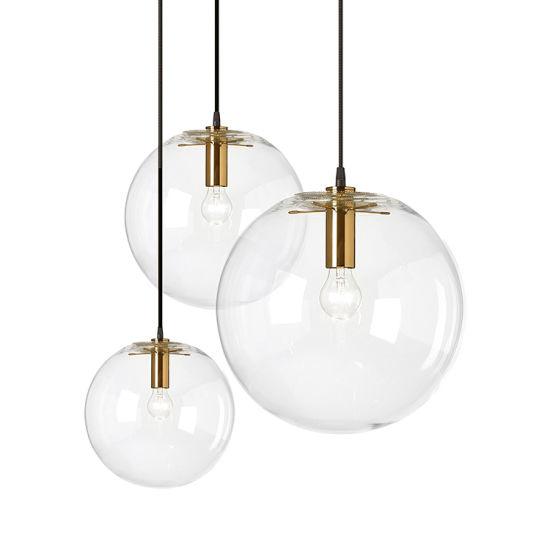 Modern Restaurant Ball Clear Gl Indoor Lighting China