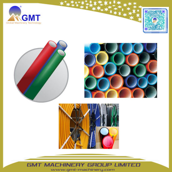 Plastic PVC|PE|PP|PPR|Water Gas Supply Irrigation Electric Single Wall Corrugated Pipe|Cable|Tube Extruding|Extruder|Extrusion Making Machine pictures & photos