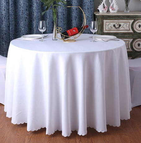 Custom Design Embroidered Tablecloth Cotton Table Cloth