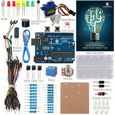 Uno R3 Starter Kit with Breadboard and Holder Step Motor / Servo for Project Electronics Kit pictures & photos