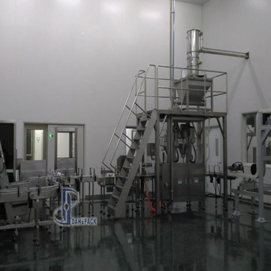 Automatic Milk Powder Filling Canning Seaming Line