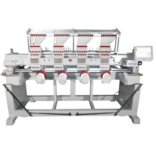 Computerized Computer Textile 4 Heads Embroidery Machine Parts