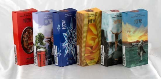 Pet/PP Customized 3D Lenticular Printing Gift Box for Packaging
