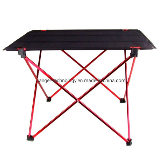 Portable Foldable Folding Table Desk Camping Outdoor Picnic 6061 Aluminium Alloy Ultra-Light pictures & photos