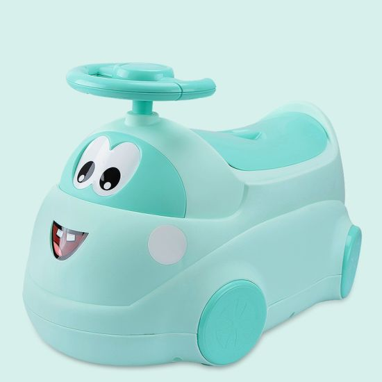 Baby Care Products High Quality Plastic Baby Potty Chair, Douding Bear Children Potty pictures & photos
