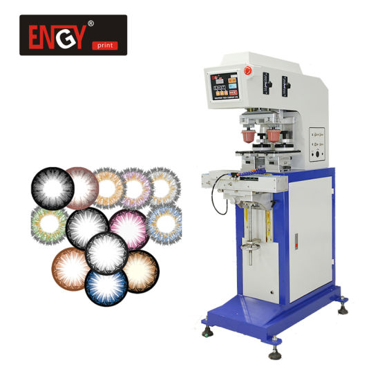 Wholesale Price Automatic Printing Contact Lenses Machine Two Color Pad Printer