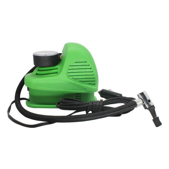 Plastic Portable Electric Air Compressor Air Pump Tyre Inflator