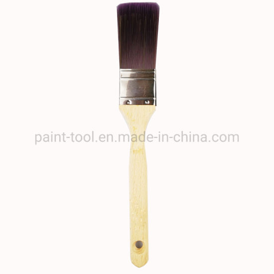 Pure Bristle Mix Paint Brushes with Wooden Handle Hand Tool