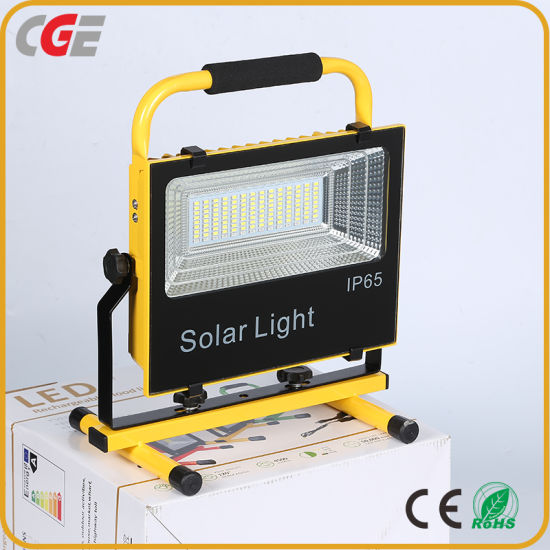 High Power Camping Finishing Lighting LED Flood Light Solar Integrated Flood Lights 50W 100W