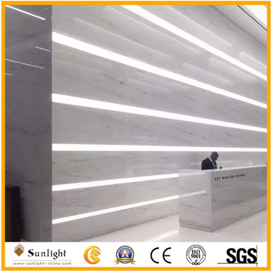 White Marble Tile Dark Grey Veins Columbia White Marble Floor Tiles
