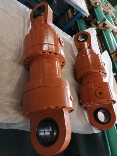 Customized Double Acting Straight Trip Hydraulic Cylinder for Industrial Machines