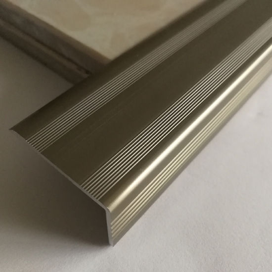 Beautrim High Quality Aluminum Anodized Stair Nosing pictures & photos