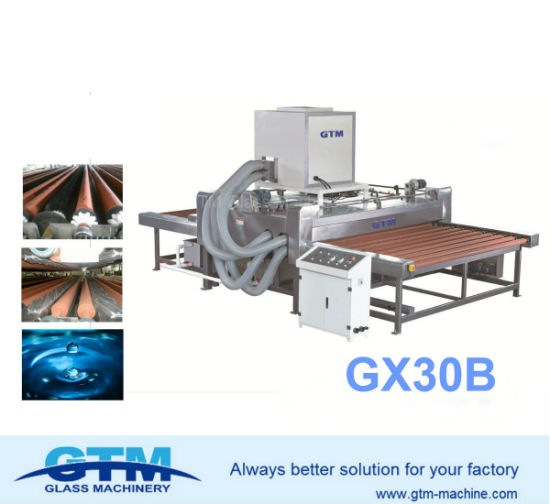 Gx30b Horizontal Glass Washing and Drying Machine for Washing Low-E Glass, Ordinary Coated and Solar Glass