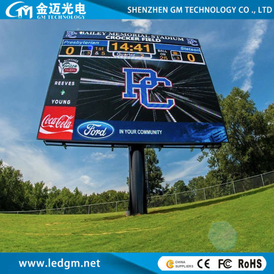 Outdoor High Brightness P8 (P10, P6, P5, P4) LED Display Screen for Advertising Visual Panel