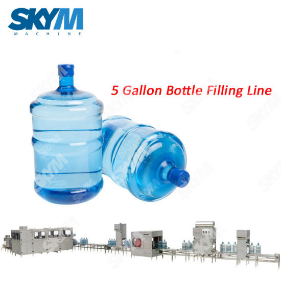 5 Gallon Barrel Bottle Mineral Water Filling Machine Price pictures & photos