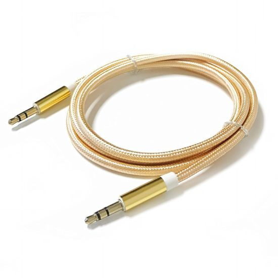 China Manufacturer 3.5mm Stereo Male to Male Audio Aux Cable