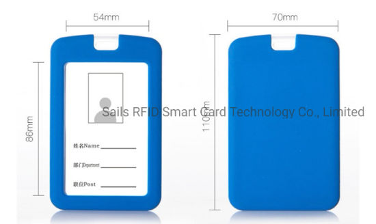 Passive Employee Contactless Smart ID Card Holder & Lanyard