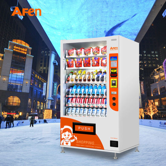 Afen Commercial Snack and Cold Beverage Combination Vending Machine
