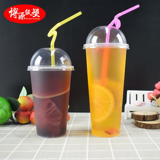 Disposable Frosted Injection Plastic Cup for Juice