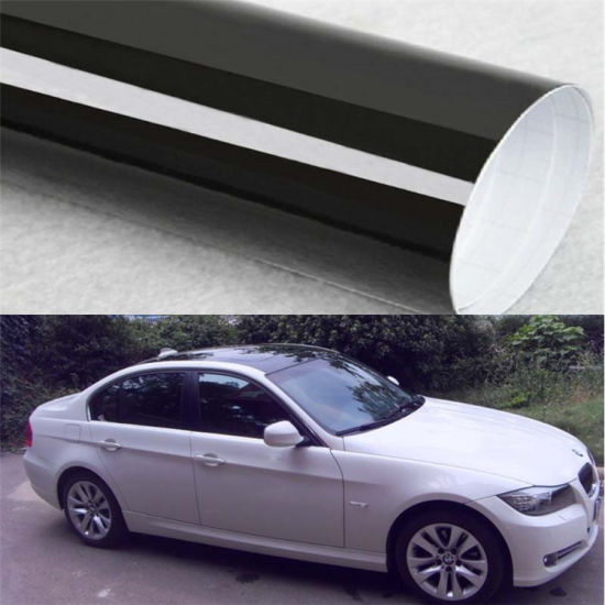 Auto Decal High Glossy Black Car Sticker Car Roof Vinyl