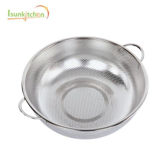 Kitchenware Stainless Steel Basket / Colander Kitchen Appliance