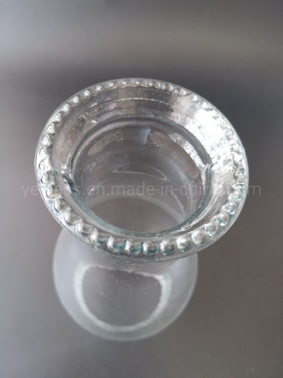 Transparent Handmade High Borosilicate Glass Lampshade for Lighting