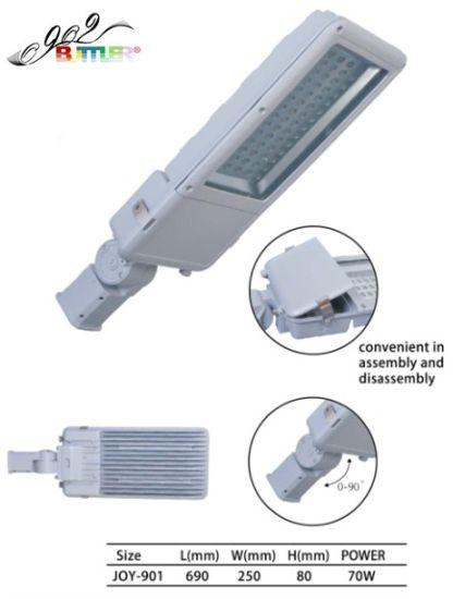 Aluminum Die Casting Road Lamp Housing Spare Parts