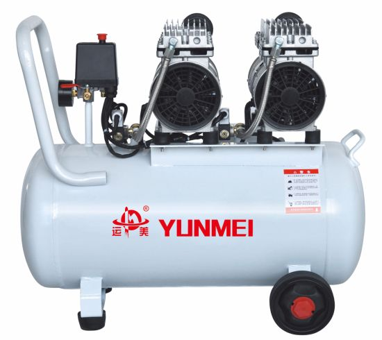 550W/750W-50L Oil Free and Silent Air Compressor Double Head