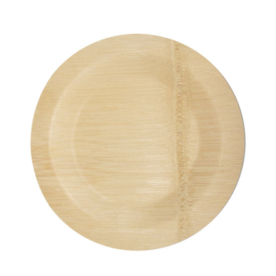 Disposable Sugarcane Bamboo Fibers Bagasse Eco Plastic Paper Plates pictures & photos