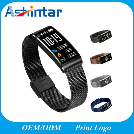 IP68 Fitness Tracker Smart Bracelet Heart Rate Blood Pressure Fashion Sport Smartwatch pictures & photos