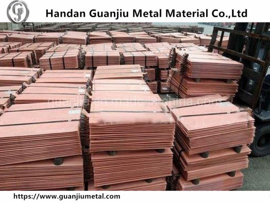 China Wholesale 99 99% Purity Lme Copper Cathode Low Price with High Quality