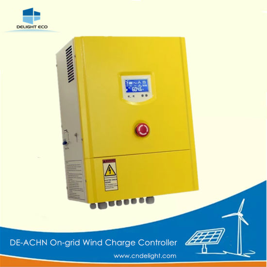 Delight De-Achn on-Grid Wind Turbine Solar Hybrid Charger Controller pictures & photos