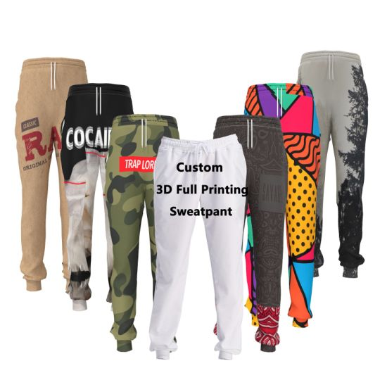 68b38bd272 China Custom Logo 3D Printed Sublimation Womens Pants - China Sports ...