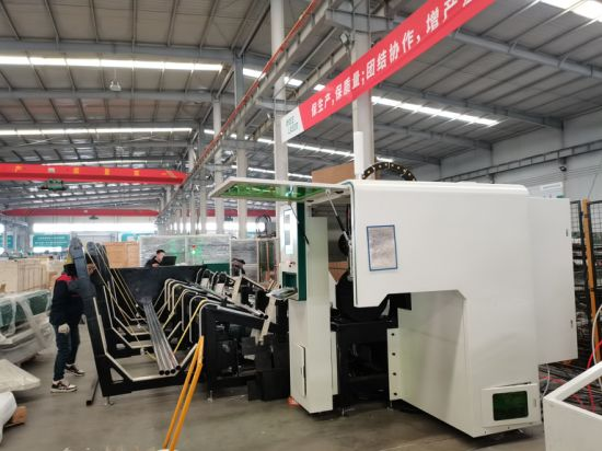 Fully automatic 1500W CNC Pipe tube Fiber Laser Cutting Machines OR-TNQ6016