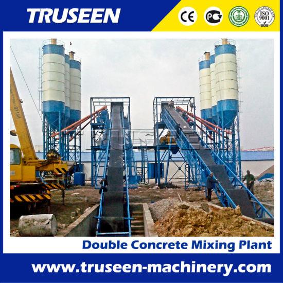 120cbm/H*2 Double Germany Ready Mixing Machine Construction Equipment
