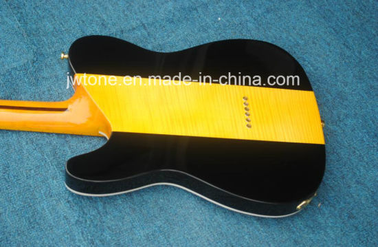 Quilted Maple Vintage Neck Quality Blueburst Tele Dog Electric Guitar pictures & photos