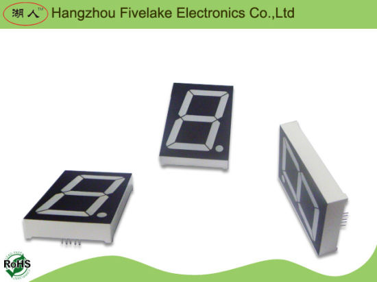 "2.3"" Single Digit Seven Segment LED Display Module (WD23012-E/F) pictures & photos"