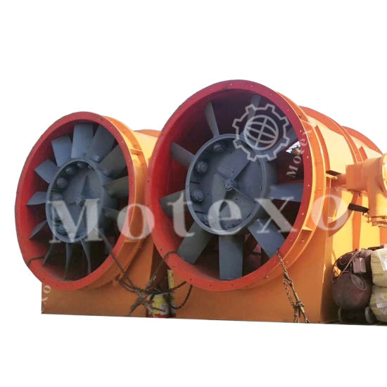 Metro Exhaust Axial Fan for Underground Transport and Rail Ventilation pictures & photos