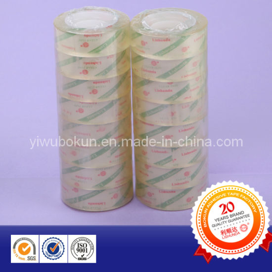 Small Roll Student Tape BOPP Stationery Adhesive Tape