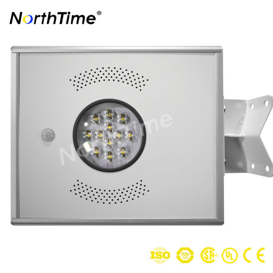 12W Renewable Energy Solar Outdoor Lighting with PIR Sensor pictures & photos