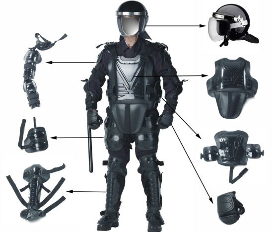 Anti-Riot Suit with Free Gloves & Carrying Bag pictures & photos