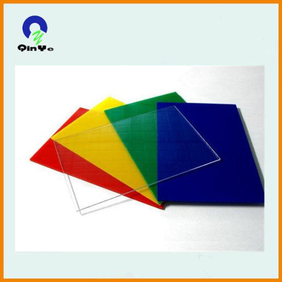 China Transparent Color Acrylic Sheet Price - China Acrylic Sheet ...