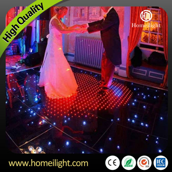 P10cm Newest Acrylic Waterproof RGB Video LED Dance Floor for Holiday Party Wedding Club Stage Show pictures & photos
