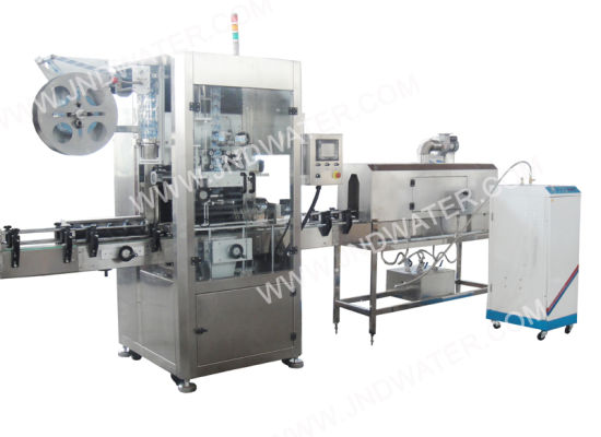 Automatic Shrink Sleeve Labeling Machine for Beverage Beverage Water Bottles pictures & photos