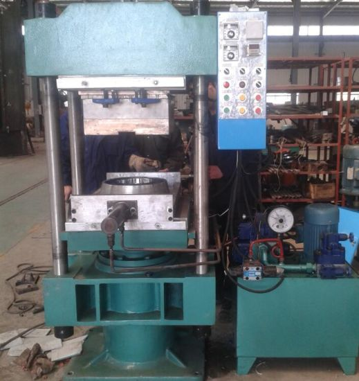 Hydraulic Vulcanizer Press Machine for Silicon Rubber pictures & photos
