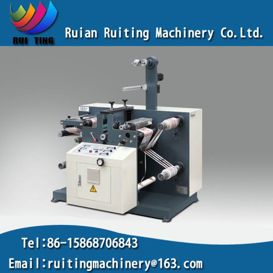 Rtq-520 Sticker Label Rotary Die Cutting Machine with Slitting Set