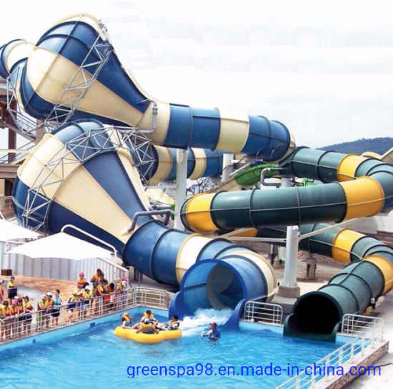 Big Water Slide Stormhoek for Large Water Park (WS-069)
