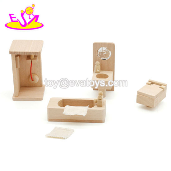 New Design Kids Miniature Wooden Doll Furniture for Dollhouse W06b073 pictures & photos